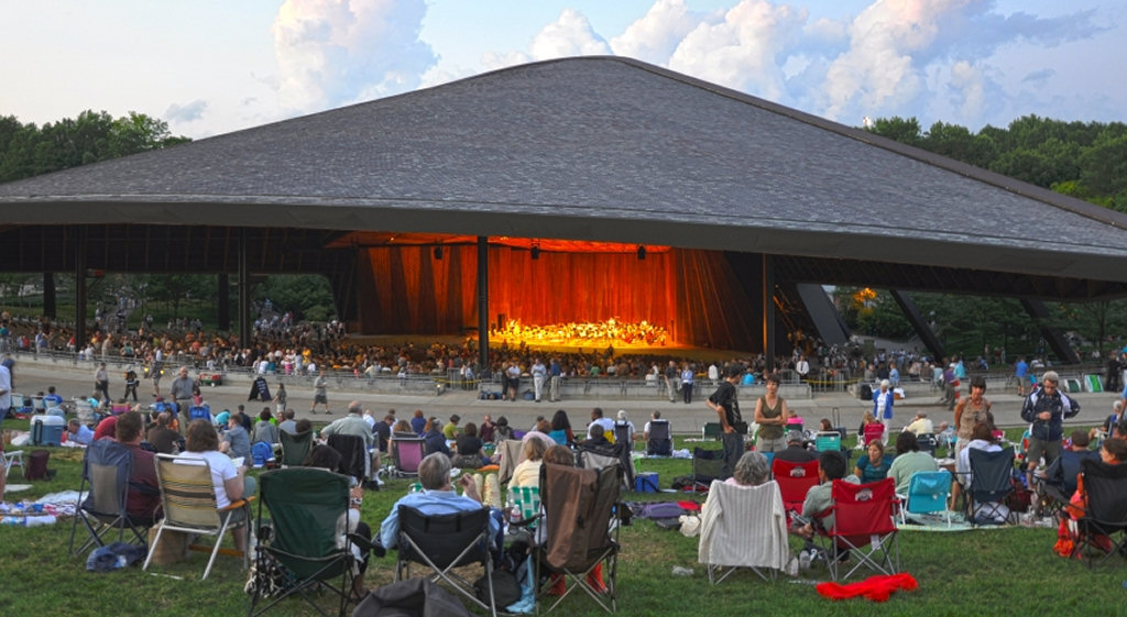 Blossom Music Center in Cuyahoga Falls Ohio | photo by chloester