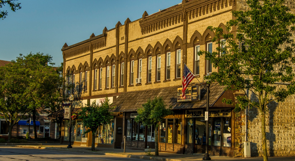 Downtown Historic District in Wadsworth Ohio | photo by Tina Heiberg
